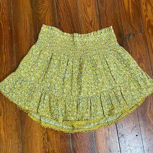 XS Aeropostale mini skirt with short under
